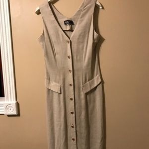 Dawn Joy Fashions: Beige maxi dress